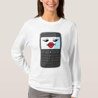 Gadget with Funny Expression - Smartphone 2 T-Shirt