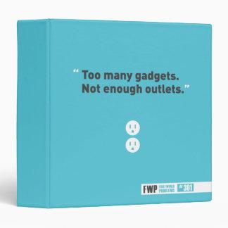 Gadgets 3 Ring Binder