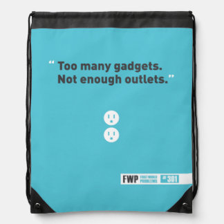 Gadgets Drawstring Bag