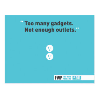 Gadgets Post Card