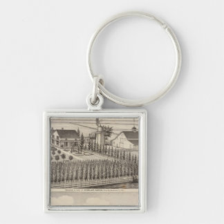 Gading, Jessup residences, farms Key Chain