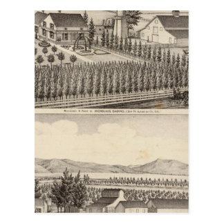 Gading, Jessup residences, farms Postcard