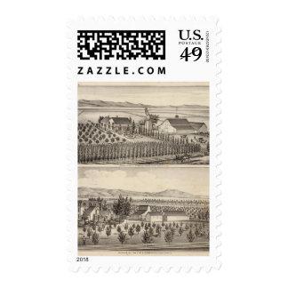 Gading, Jessup residences, farms Stamp