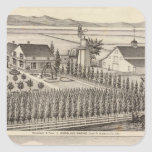 Gading, residencias de Jessup, granjas Colcomanias Cuadradases