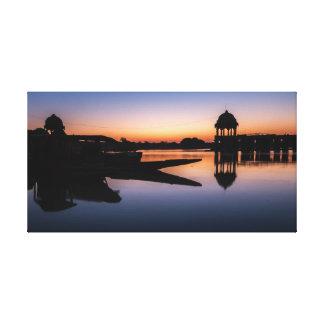 Gadisar Lake Canvas Print