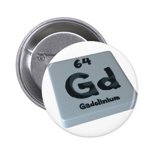 Gadolinio de Gd Pins