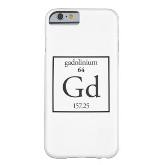 Gadolinium Barely There iPhone 6 Case