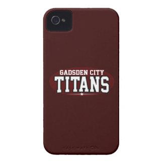 Gadsden City High School; Titans iPhone 4 Case