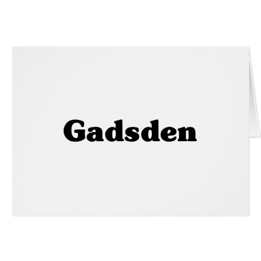 Gadsden Classic t shirts Greeting Card