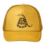 Gadsden Coiled Rattlesnake Trucker Hats