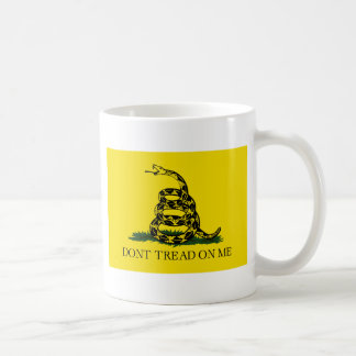 Gadsden Don't Tread Flag Coffee Mug