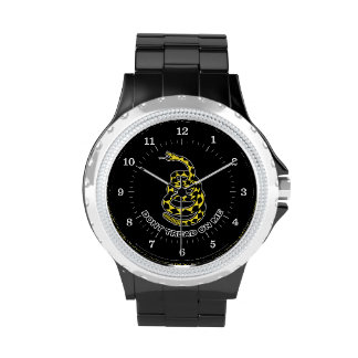 Gadsden Don't Tread On Me Flag Watches