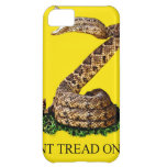 Gadsden Flag 2013 - Don't Tread on Me (Square) Case For iPhone 5C