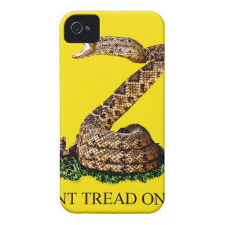 Gadsden Flag 2013 - Don't Tread on Me (Square) iPhone 4 Case