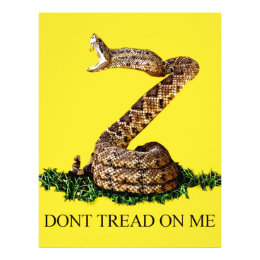 Gadsden Flag 2013 - Don't Tread on Me (Square) Letterhead