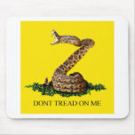 Gadsden Flag 2013 - Don't Tread on Me (Square) Mouse Pad