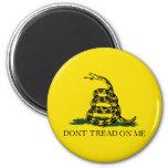 Gadsden Flag 2 Inch Round Magnet