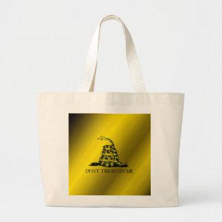 Gadsden Flag Canvas Bags