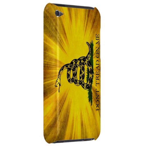 Gadsden Flag Barely There iPod Covers