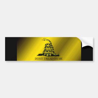 Gadsden Flag Bumper Sticker