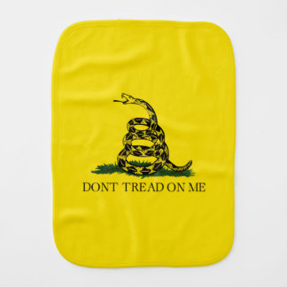 Gadsden Flag Burp Cloth