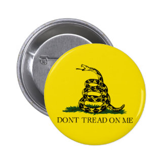 Gadsden Flag Button