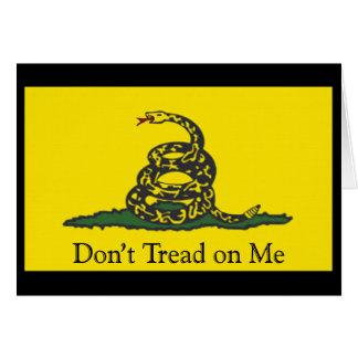 Gadsden Flag Card