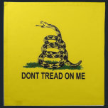 "Gadsden Flag Cloth Napkin<br><div class=""desc"">I like the way this looks.  Thanks for your visit and feel free to customize this to meet your needs!  Have a wonderful day!</div>"