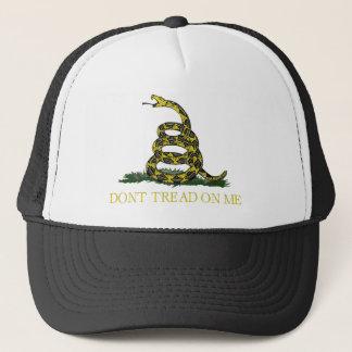 Gadsden Flag Coiled Snake Trucker Hat