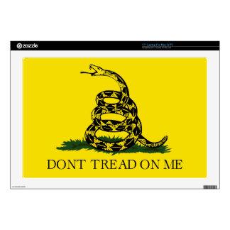 """Gadsden Flag Decals For 17"""" Laptops"""