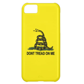 Gadsden Flag Dont Tread On Me Cover For iPhone 5C