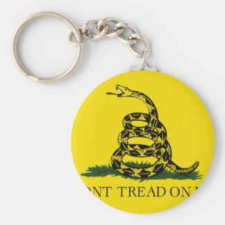 Gadsden Flag - Don't tread on me Keychain