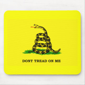 Gadsden Flag - DON'T TREAD ON ME Mouse Pad