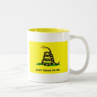 Gadsden Flag - DON'T TREAD ON ME Mugs