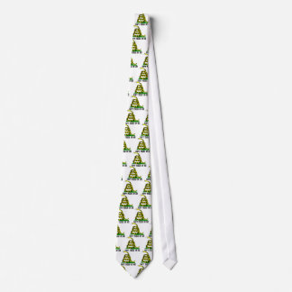 Gadsden Flag Don't Tread On Me Neck Tie