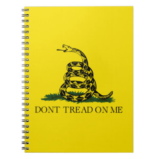 Gadsden Flag - Don't Tread On Me Notebook