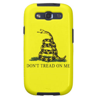 Gadsden Flag Dont Tread On Me Patriotic Protest Galaxy SIII Cover