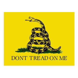 Gadsden Flag - Don't Tread On Me Postcard