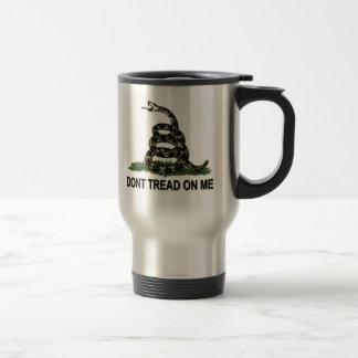 Gadsden Flag Dont Tread On Me Style 2 15 Oz Stainless Steel Travel Mug