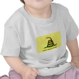 Gadsden Flag - DON'T TREAD ON ME T Shirts
