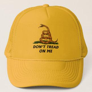 GADSDEN FLAG DON'T TREAD ON ME Tea Party Snake USA Trucker Hat