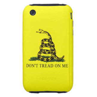 Gadsden Flag Dont Tread On Me Tough iPhone 3 Cover