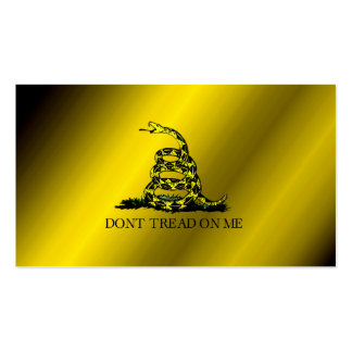 Gadsden Flag Double-Sided Standard Business Cards (Pack Of 100)