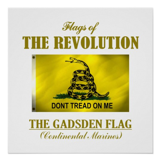 Gadsden Flag (FR) Poster