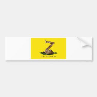 Gadsden Flag Full Bumper Sticker