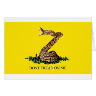 Gadsden Flag Full Card