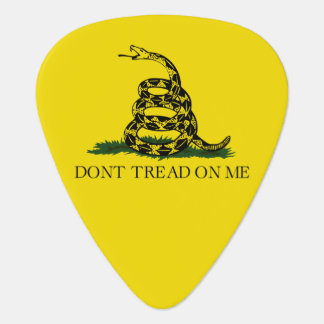 Gadsden Flag Guitar Pick