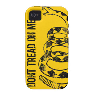 Gadsden Flag iPhone Case Case-Mate iPhone 4 Cover