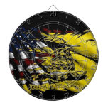 Gadsden Flag - Liberty Or Death Dart Board