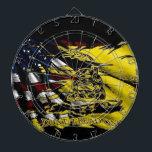 "Gadsden Flag - Liberty Or Death Dart Board<br><div class=""desc"">Gadsden Flag</div>"